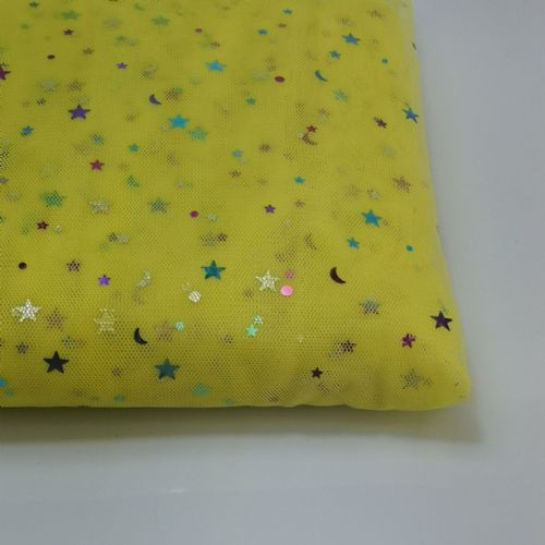 Sparkle Tulle | Lemon Yellow | K36A-W160 | 54""
